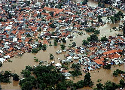 Jakarta Tenggelam - BBC