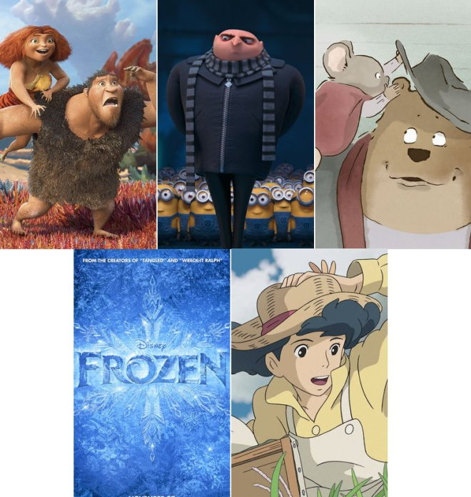 Animated Feature Film Nominee 2014