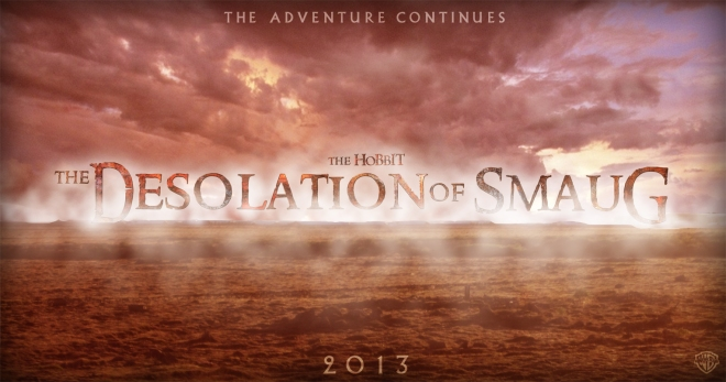 The Hobbit Desolation of SMaug Banner Poster by Umbridge