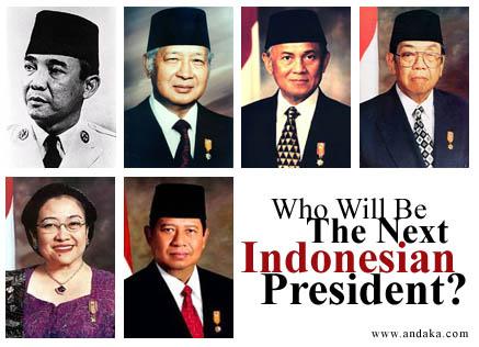Presiden Indonesia Sejak 1945 sampai 2014