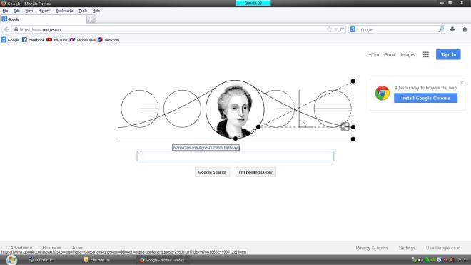 Google & Maria Gaetana Agnesi