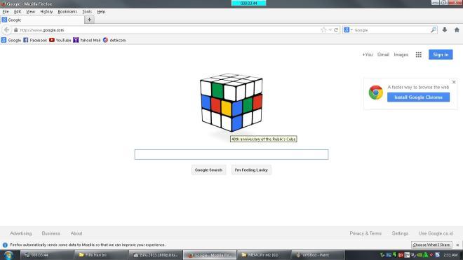 Google & Rubik's Cube