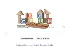 Google & Hari Anak Nasional