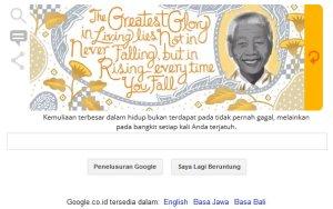 Google & Nelson Mandela - Kemuliaan terbesar