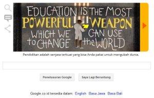 Google & Nelson Mandela - Pendidikan adalah senjata