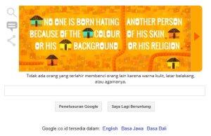 Google & Nlson Mandela - Tidak Ada orang terlahir