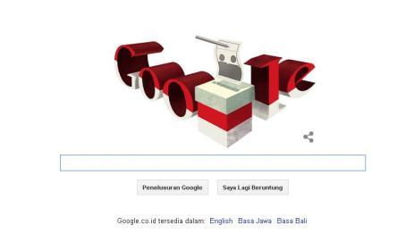 Google & Pilpres RI 2014