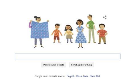 Google & Hari Batik Nasional