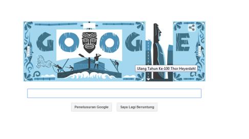 Google & Thor Heyerdahl