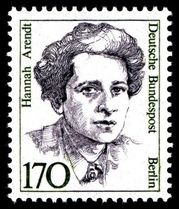 Perangko Hannah Arendt