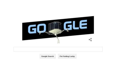 Google & Probe makes historic comet landing
