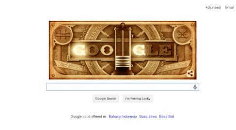 google & Alessandro Volta