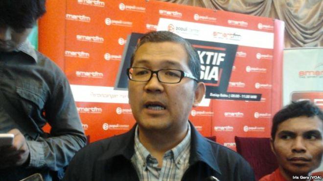Pengamat Hubungan Internasional dari Universitas Binus, Tirta Mursitama menjelaskan hal terkait eksekusi mati terpidana kasus penyalahgunaan narkoba di Jakarta, 7 Maret 2015