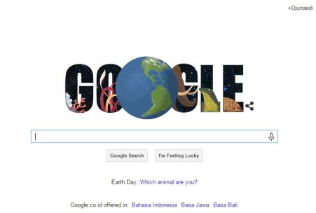Google & Hari Bumi 2015