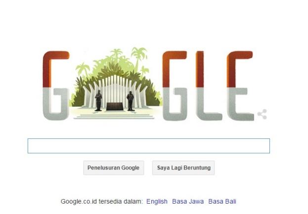 Google & Hari Kemerdekaan RI ke-70