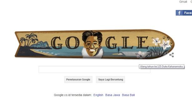 Google & Kahanamoku