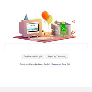 Google Doodle Ulang Tahun Google ke 17