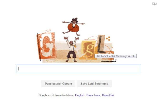 Google & Frankie Mannings