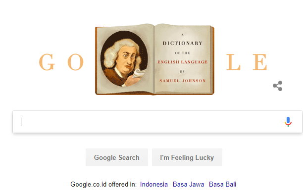 google & Samuel Johnson