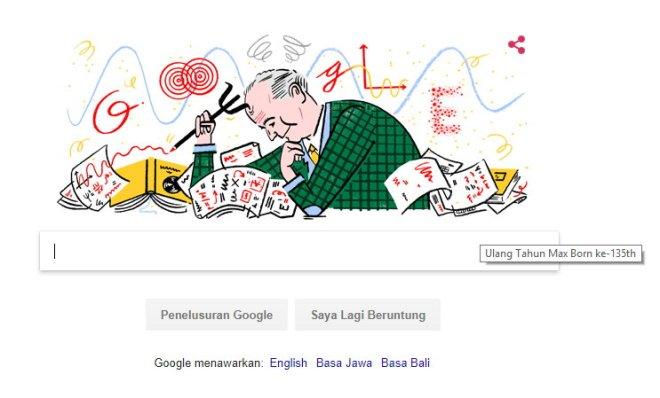 Google & Max Born