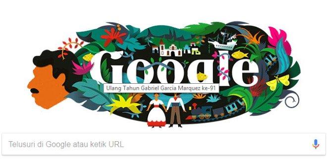 Google & Gabriel José de la Concordia García Márquez